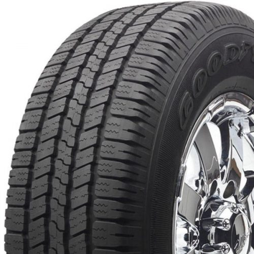 showing detail of the Goodyear Wrangler SR-A tires in Houston